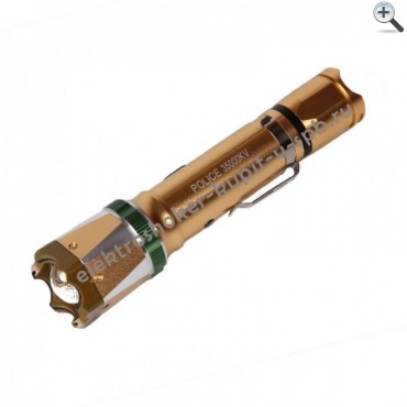 Электрошокер Молния YB-1312 Gold
